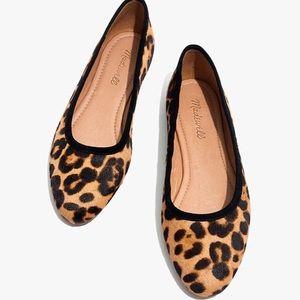 The Reid Ballet Flat in Leopard